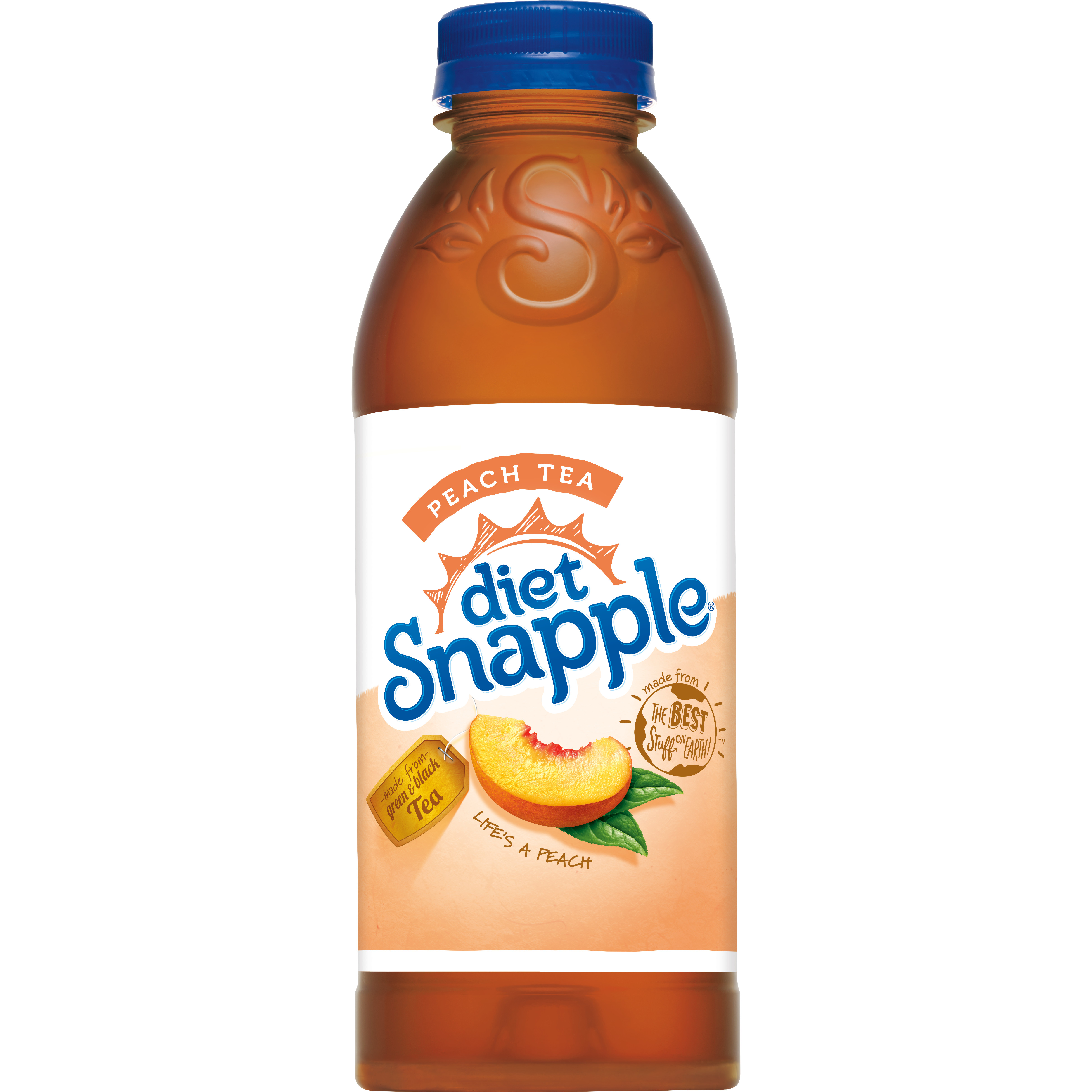 Diet Snapple Peach Tea, 20 fl oz
