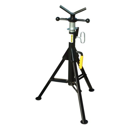 Standard Hi Fold-A-Jack Stand 2500 Lbs Capacity with Vee Head (T Post Puller For Hi Lift Jack)