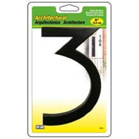 (#3- 6 Inch Architectural House Number)