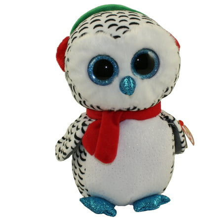 TY Beanie Boos - NESTER the Owl (Medium Size - 9 in)](Owl Media)