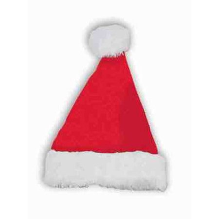 Plush Santa Hat - Santa Hats Bulk