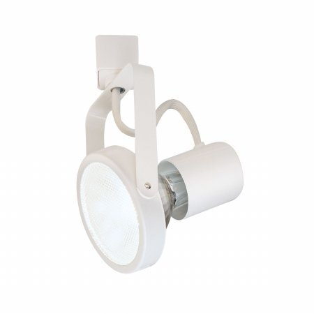 Nora NTH-107W 120 Volt White PAR30 Gimbal Ring Track Head H-Type