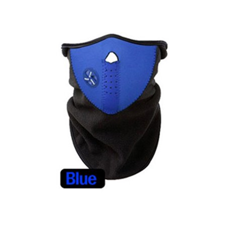 Bicyle Cycling Motorcycle Winter Sports Ski Snowboard Hood Wind Stopper Face Mask Headwear Thermal Fleece