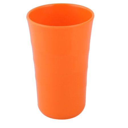 Home Office  Round Coffee Tea Water Juice Drinking Cup Mug Orange 400ml