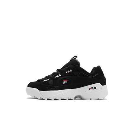 4c85f4b9691 Fila - Fila 1CM00490-014  D Formation Black Red White Sneakers - Walmart.com