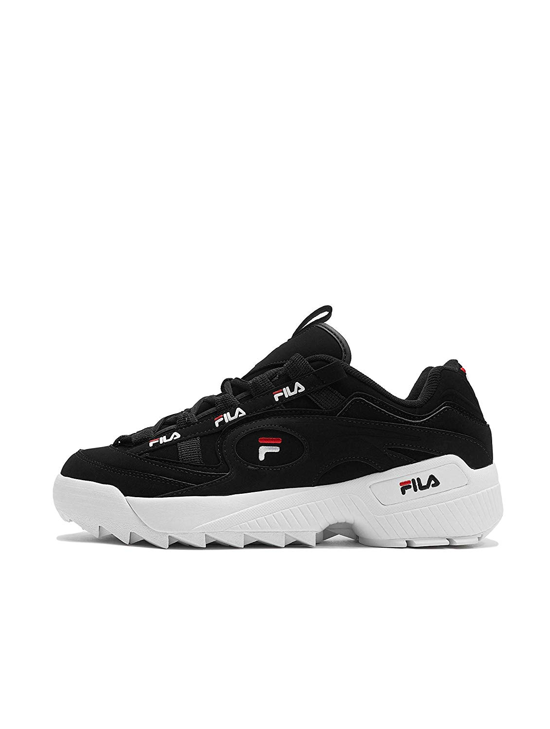 Fila 1CM00490-014: D Formation Black/Red/White Sneakers
