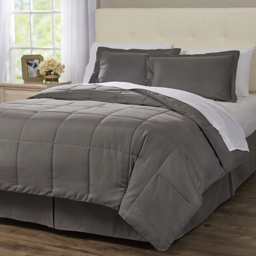 Alwyn Home 1800 Series 8 Piece Bed in a Bag Set