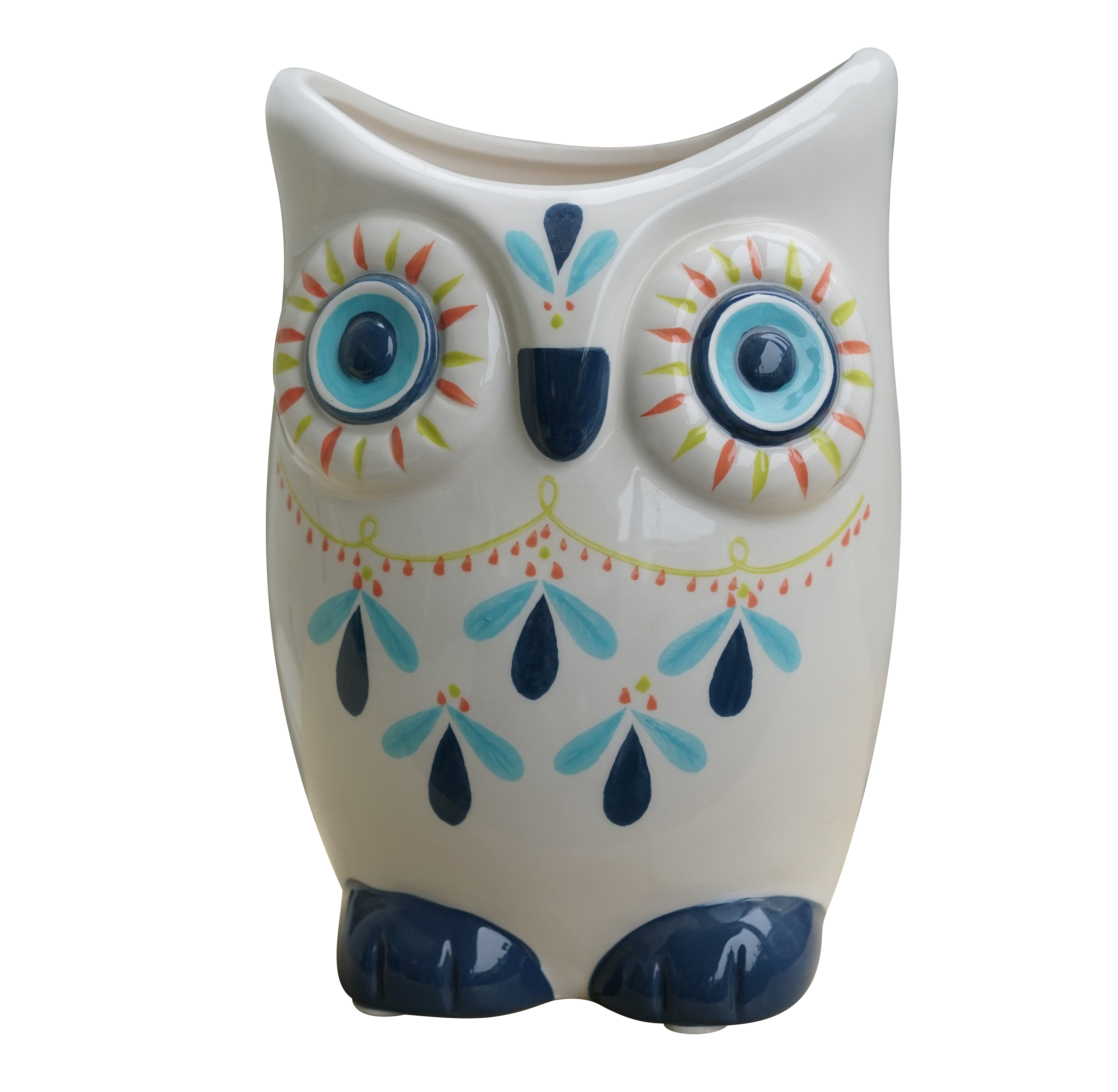 Better Homes&gardens Pottery-8in Owl Planter