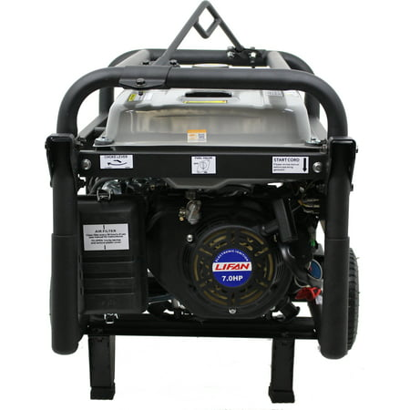 Lifan Pro-Series Platinum Premium LF4250EPL, with Total Harmonic Distorion (THD), Clean Power Alternator, Rental/Contractor, OSHA Compliant Portable Generator