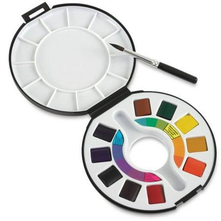 Travel Watercolor - Raphael Watercolor Travel Set of 10 Half Pans