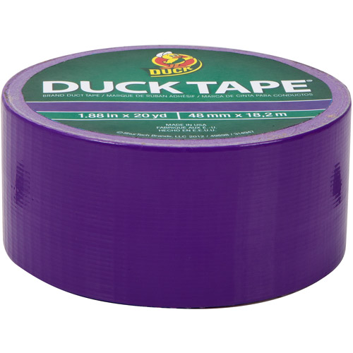 "Duck Brand Duct Tape, 1.88"" x 20 yard, Purple"