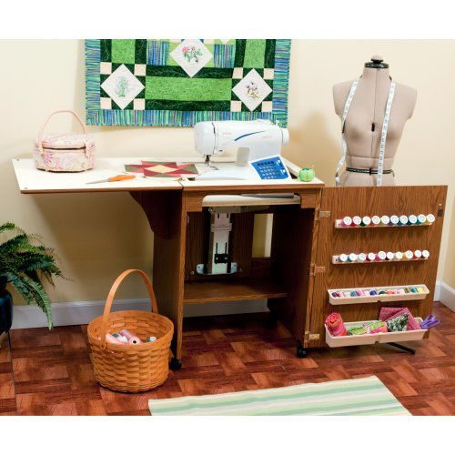 Arrow Sewnatra Sewing Cabinet with Air lift mechanism