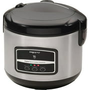 Presto 16-Cup Digital Stainless Steel Rice Cooker/Steamer 05813