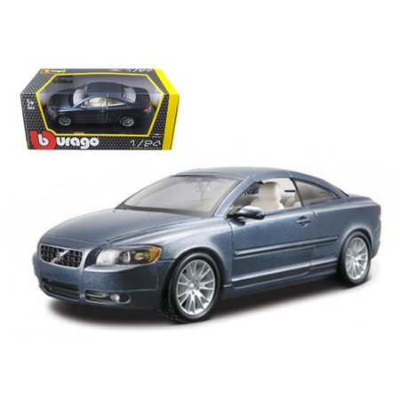 Volvo C70 Coupe Blue 1/24 Diecast Car Model by