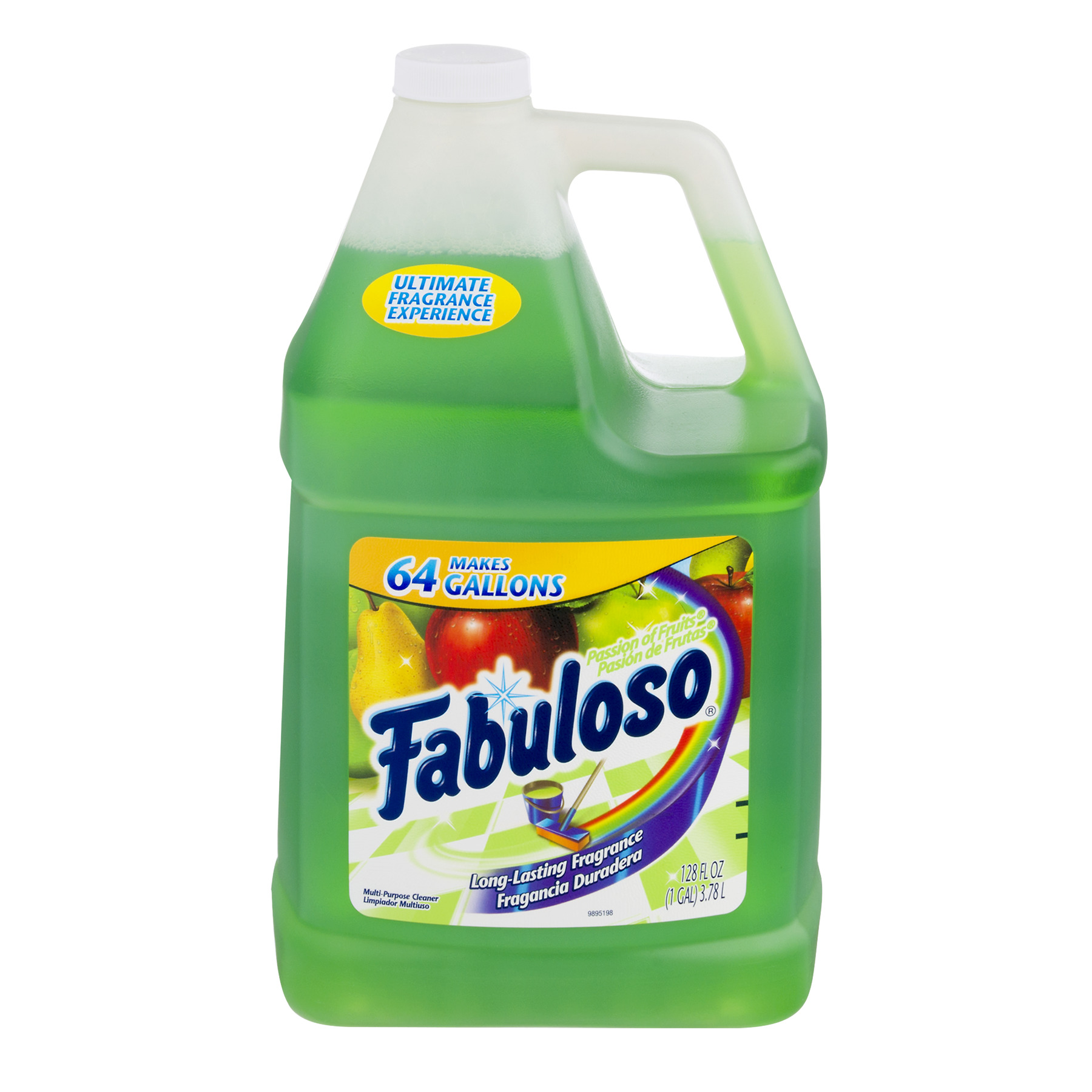 Fabuloso All Purpose Cleaner, Passion Fruit - 128 fl oz