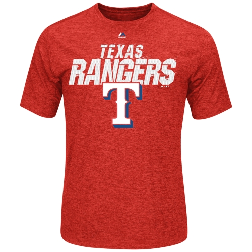 Texas Rangers Majestic Cool Base Winning Moment T-Shirt - Red