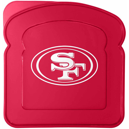 NFL San Francisco 49Ers Sandwich Container Set, 4pk