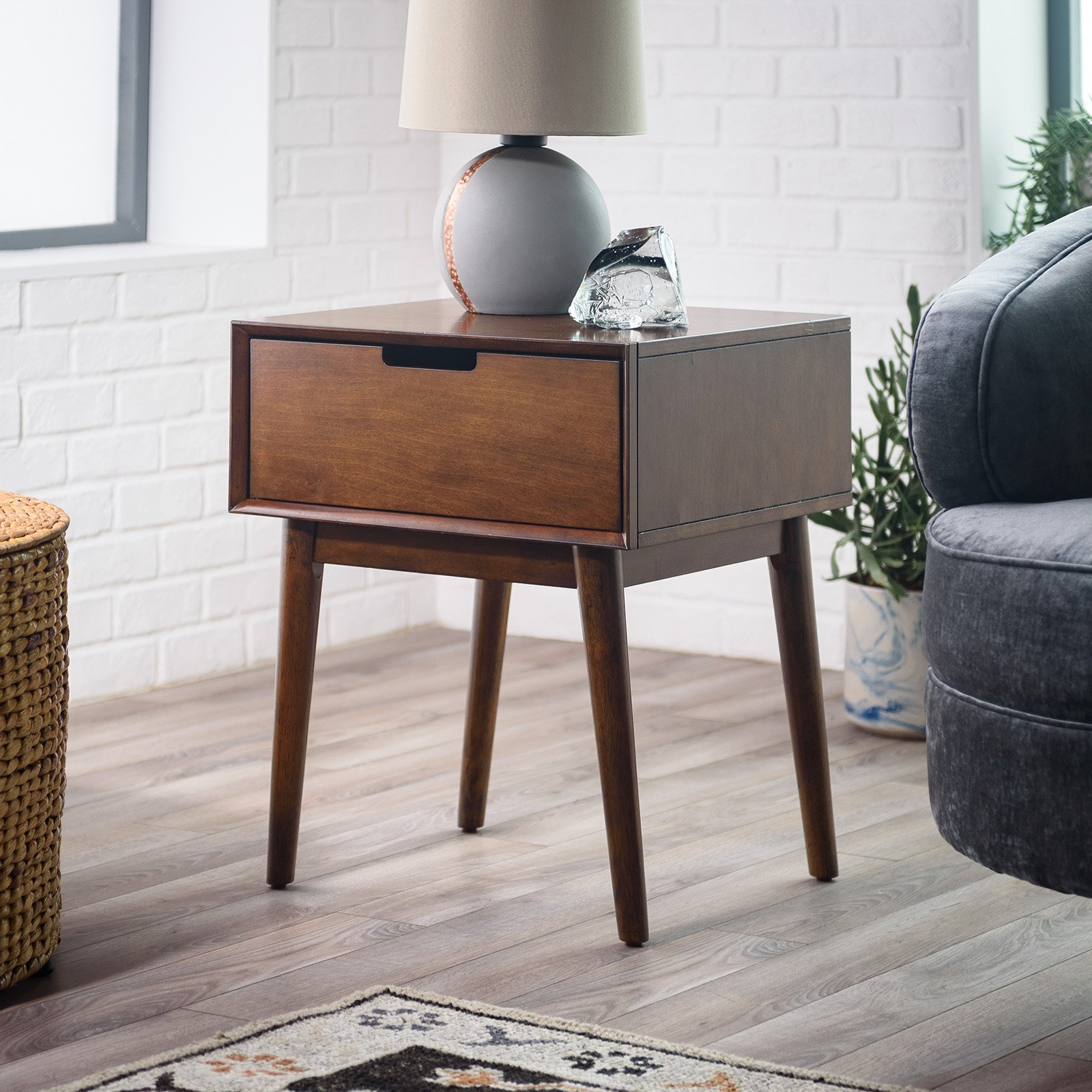 Exceptionnel Belham Living Campbell Mid Century Modern Side Table