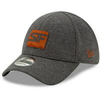 San Francisco Shock New Era Overwatch League Buttonless 39THIRTY Flex Hat - Graphite
