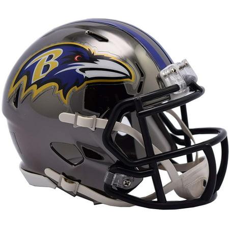 Riddell Baltimore Ravens Chrome Alternate Speed Mini Football Helmet