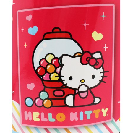 Hello Kitty Gum Ball Machine Pink Colored Scented Throw Blanket](Hello Kitty Blanket)