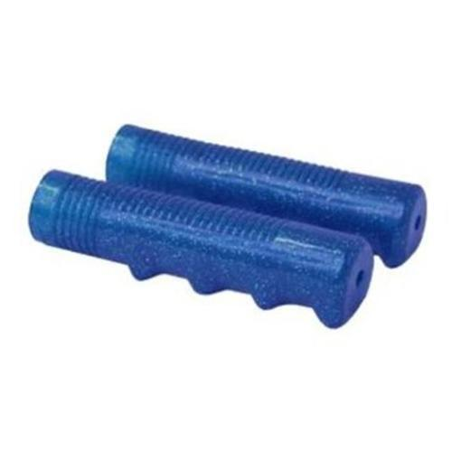 DUO Bicycle Parts 57WR2604CBE Retro Handle Bar GripPvc Blue