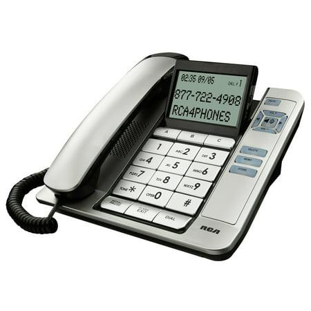 Classic Design Desk Phone (RCA 1113-1BSGA Corded Desk Phone With Caller)