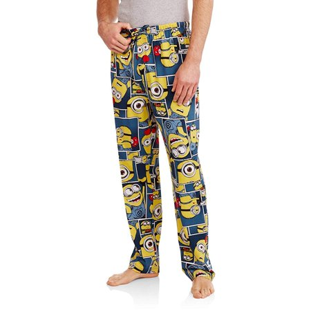 Despicable Me Minion Blocks Knit Graphic Sleep Lounge - Despicable Me Fabric
