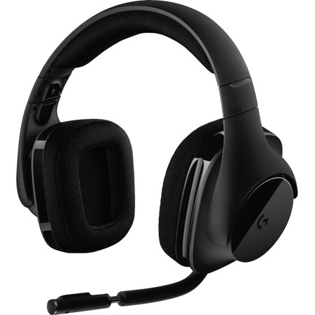 Logitech G533 Wireless Dts 7.1 Surround Gaming Headset - Stereo -