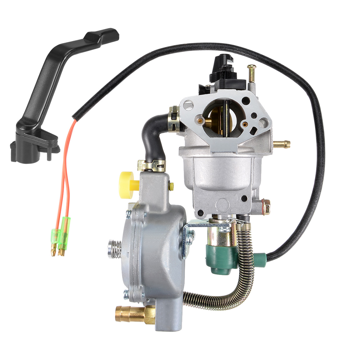 Unique Bargains Generator Dual Fuel Carburetor LPG NG Conversion Kit 4.5-5.5KW GX390 188F