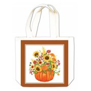 Alices Cottage Pumpkin Bouquet Gift Tote