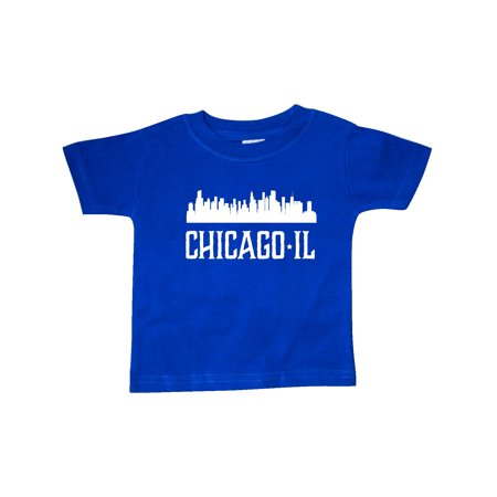 Chicago Illinois Skyline IL Cities Baby T-Shirt
