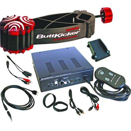 ButtKicker BK-GR2 Gamer Transducer Bass Shaker Amplifier Kit