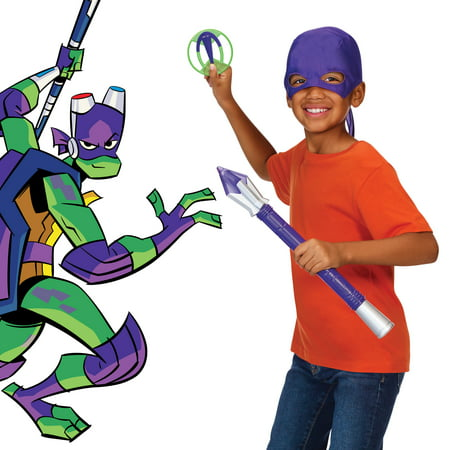 Rise of the Teenage Mutant Ninja Turtles Donatello's Tech-Bo Staff Role Play (Ninja Turtle Dress Up)