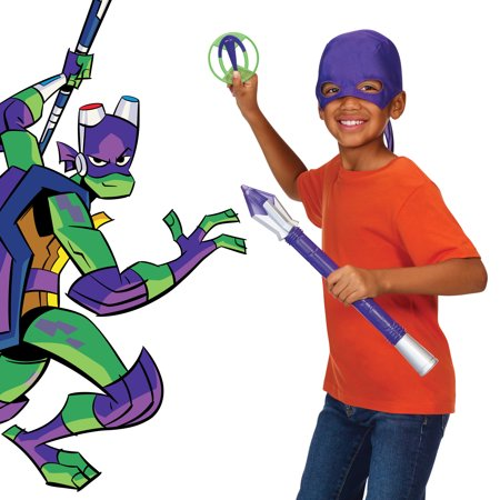 Rise of the Teenage Mutant Ninja Turtles Donatello's Tech-Bo Staff Role - Michael Angelo The Ninja Turtle