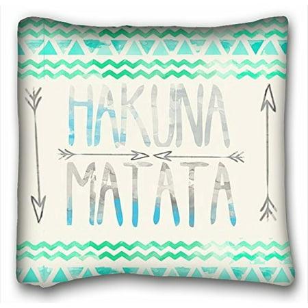 - WinHome Simple Design Cheap Pillowcase Matata Mint Green Stripe Throw Pillow Size 18x18 inches Two Side Print