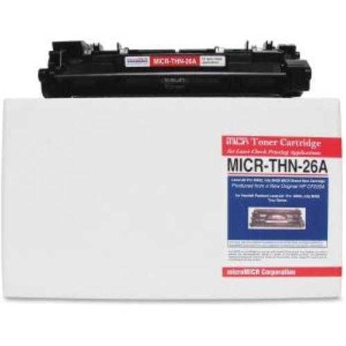Micromicr Micr Toner Cartridge - Replacement For Hp [cf226a] - Black - Laser - 3100 Page - 1 Pack (micrthn26a)