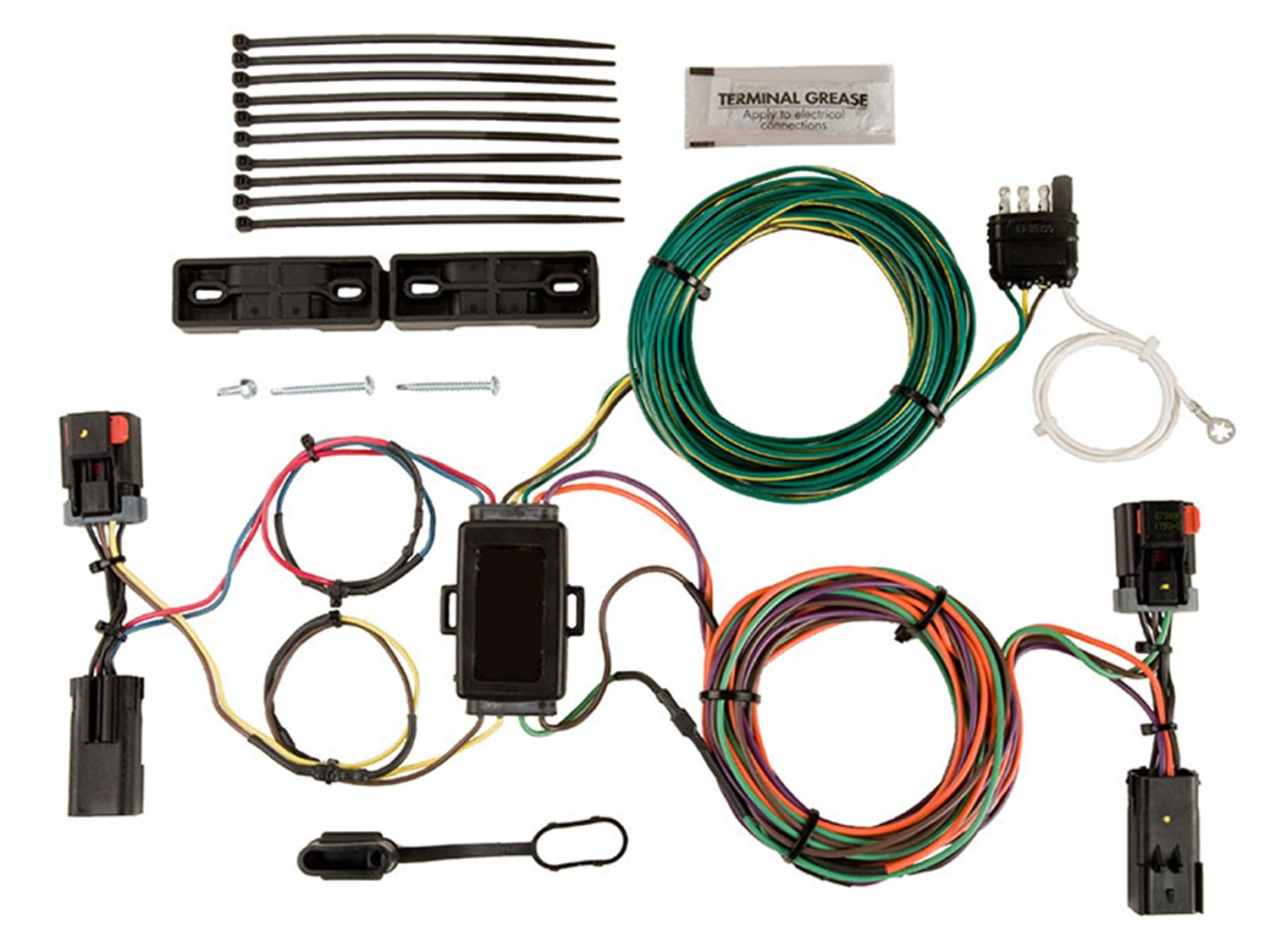 blue ox bx88283 ez light wiring harness kit for dodge libertyblue ox bx88283 ez light wiring harness kit for dodge liberty walmart com