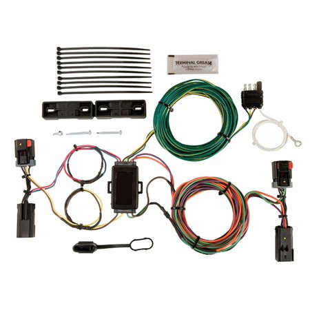 Admirable Blue Ox Bx88283 Ez Light Wiring Harness Kit For Dodge Liberty Wiring Cloud Rectuggs Outletorg