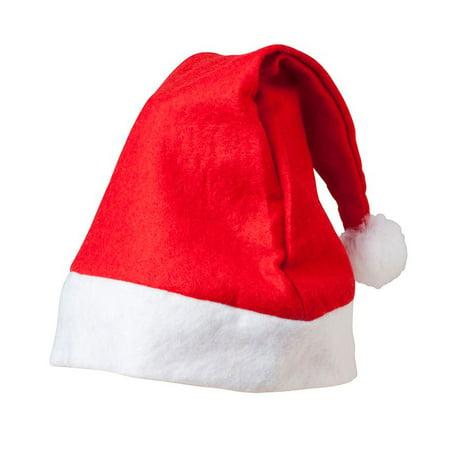 Merry Christmas Hat * Bulk Santa Hats * Pack of 10 for $<!---->