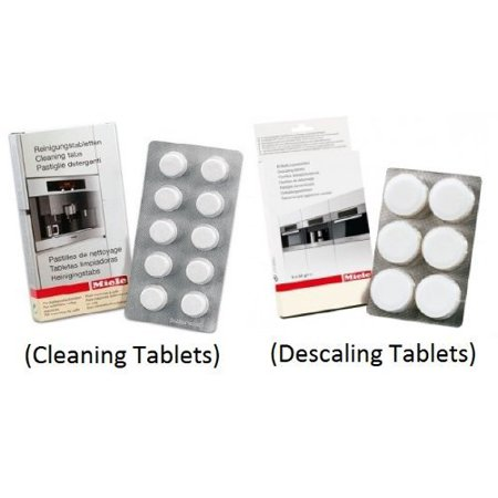 Miele Coffee System - Miele Coffee Machine Cleaning Tablets (10pk) & Descaling Tablets (6pk)