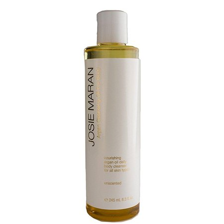 - josie maran argan cleansing oil for body (full (8.3 fl oz/245ml), unscented)