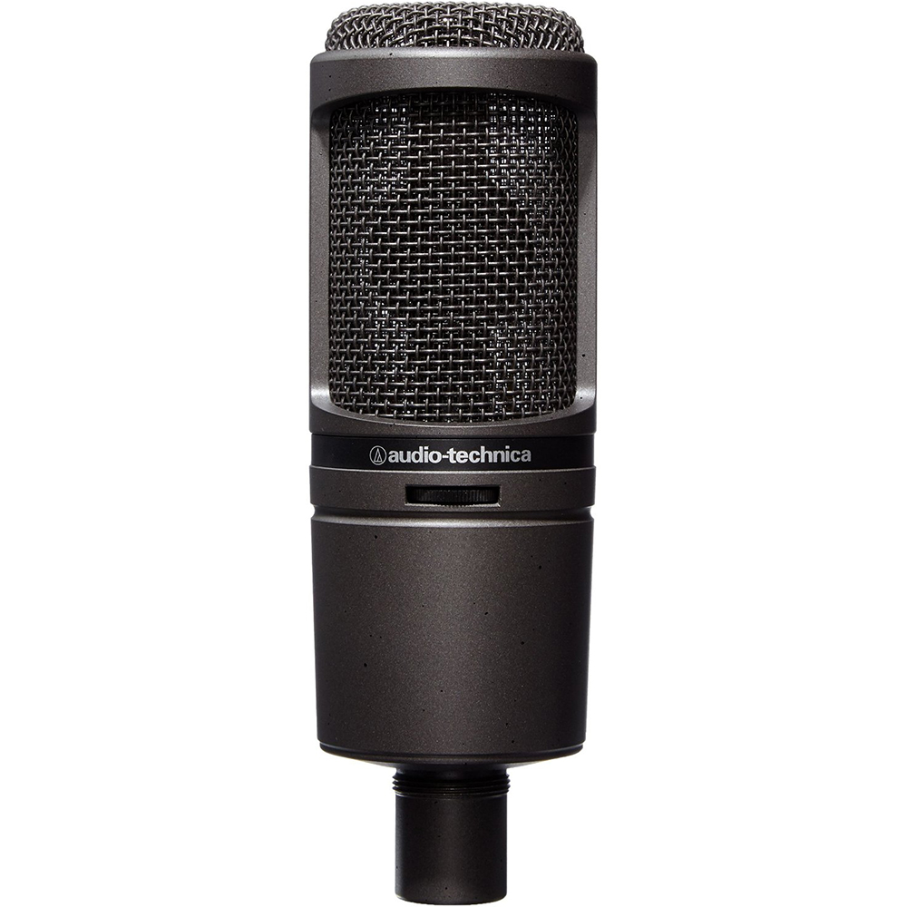 Audio-Technica Cardioid Condenser USB Microphone (AT2020USBI) by Audio-Technica