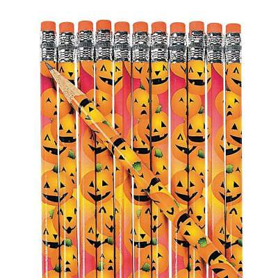 Halloween Pumpkin Art And Craft (IN-25/12980 Halloween Pumpkin Pencils 24)