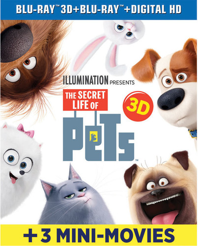The Secret Life Of Pets (Blu-ray + Blu-ray + Digital Copy)
