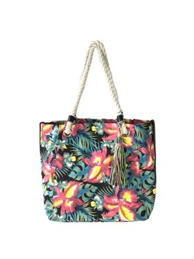 f60956dbc1 Product Image Tropical Floral Print Large Market Tote Beach Bag