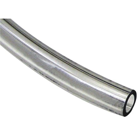 Abbott Rubber General Purpose Lightweight Vinyl Tubing, 1 in ID x 1-1/4 in x 50 ft L, PVC