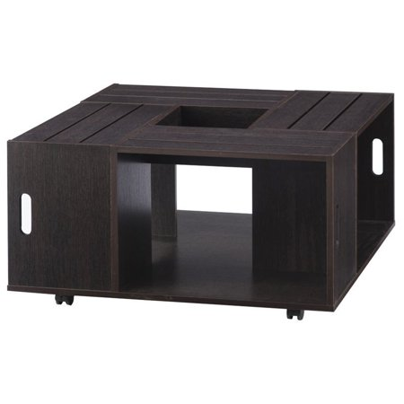 Bowery Hill Square Coffee Table in Espresso - image 1 of 4