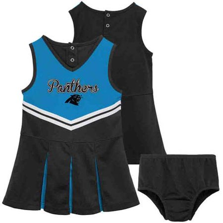 NFL - NFL Carolina Panthers Toddler Cheerleader Set - Walmart.com 2e90a00da