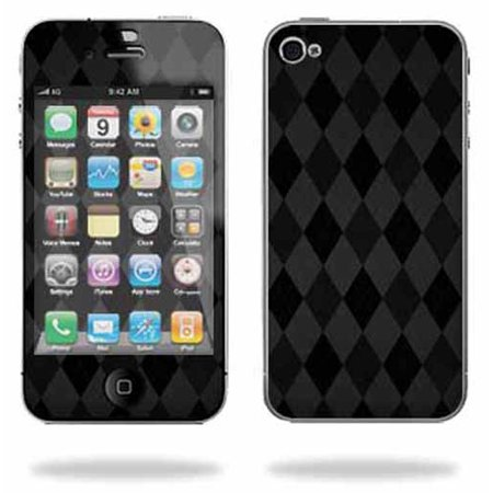 Mightyskins Apple iPhone 4 or iPhone 4S AT&T or Verizon 16GB 32GB Cell Phone wrap sticker skins Black Argyle](iphone 4s cheapest price)